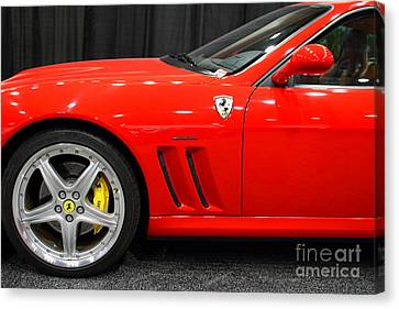 2003 Ferrari 575m . 7d9389 Canvas Print by Wingsdomain Art and Photography