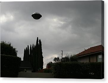 2004 Real Ufo Evidence Canvas Print by Michael Ledray