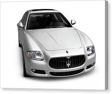 2009 Maserati Quattroporte S Canvas Print by Oleksiy Maksymenko