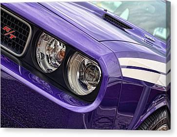 2011 Dodge Challenger Rt Canvas Print by Gordon Dean II