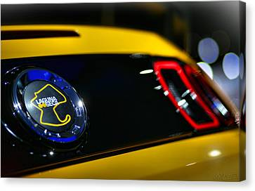 2012 Ford Mustang Boss 302 Laguna Seca Canvas Print by Gordon Dean II