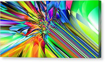2x1 Abstract 308 Canvas Print by Rolf Bertram