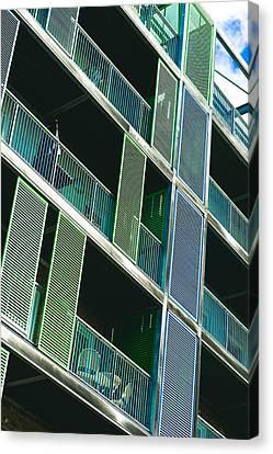 Apartments Canvas Print by Tom Gowanlock