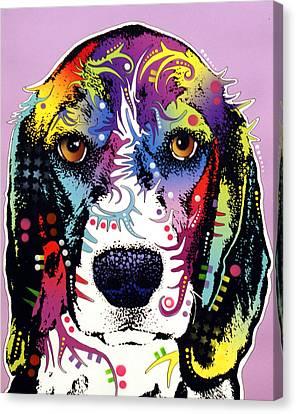 Beagle Canvas Print by Dean Russo