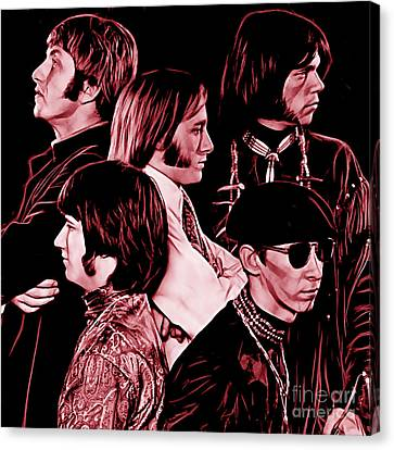 Buffalo Springfield Collection Canvas Print by Marvin Blaine