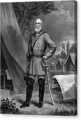 General Robert E Lee Canvas Print by War Is Hell Store