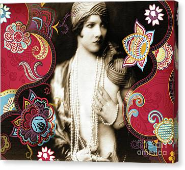 Goddess Canvas Print by Chris Andruskiewicz