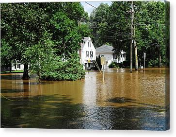 Hurricane Irene 2011 Canvas Print by Dimitri Meimaris