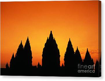 Java, Prambanan Canvas Print by Gloria & Richard Maschmeyer - Printscapes