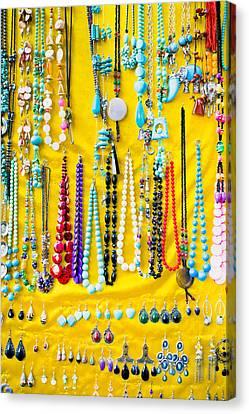Jewellery Canvas Print by Tom Gowanlock