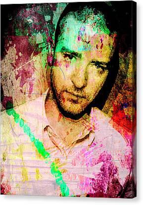 Justin Timberlake Canvas Print by Svelby Art
