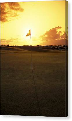 Kapalua Golf Club Canvas Print by Carl Shaneff - Printscapes