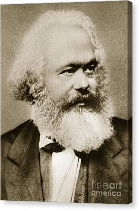 Karl Marx Canvas Print by Unknown