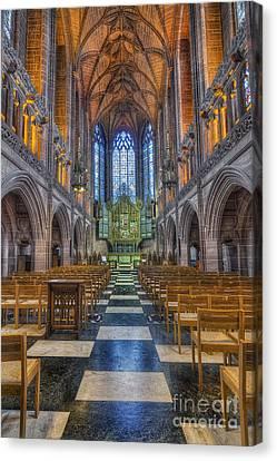 Lady Chapel Canvas Print by Ian Mitchell