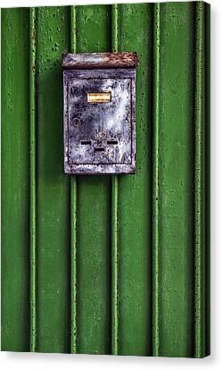 Letter Box Canvas Print by Joana Kruse