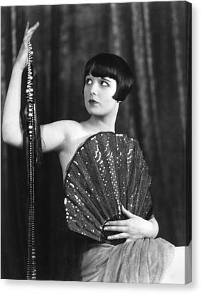 Louise Brooks, Late 1920s Canvas Print by Everett