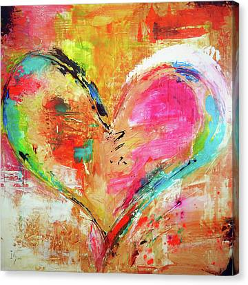 Love Is Divine Canvas Print by Ivan Guaderrama