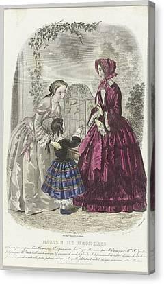 Magasin Des Demoiselles, Canvas Print by Celestial Images