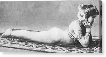 Mata Hari Canvas Print by French School