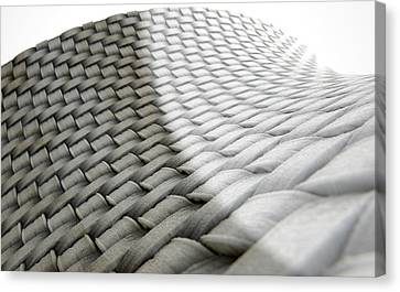 Micro Fabric Weave Comparison Canvas Print by Allan Swart