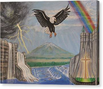 My Youth Is Renewed Like The Eagle's Canvas Print by Neal David Reilly