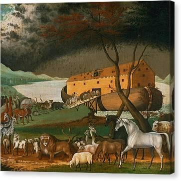 Noah's Ark Canvas Print by Edward Hicks