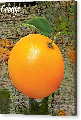 Orange Collection Canvas Print by Marvin Blaine