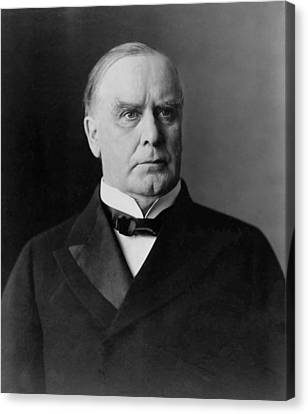 President William Mckinley Canvas Print by War Is Hell Store