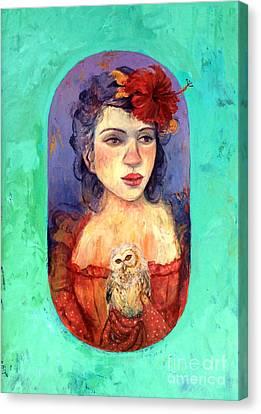 Queen Of Wisdom Canvas Print by Tonya Engel