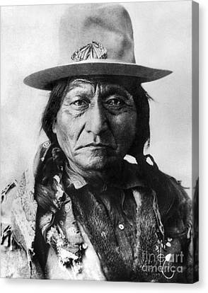 Sitting Bull (1834-1890) Canvas Print by Granger