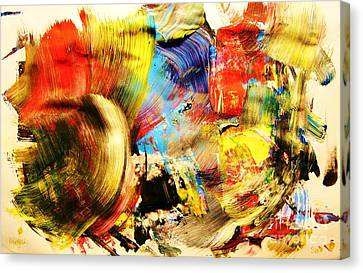 Steps Canvas Print by Chris Brightwell