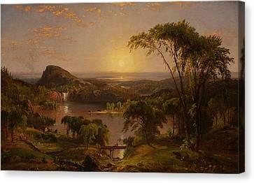 Summer Lake Ontario Canvas Print by Jasper Francis Cropsey