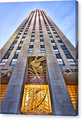 30 Rock Canvas Print by June Marie Sobrito