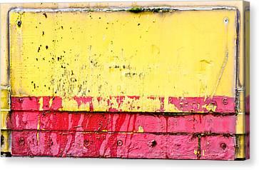 Metal Background  Canvas Print by Tom Gowanlock