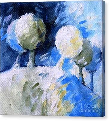 37 Arbres Canvas Print by Beatrice BEDEUR