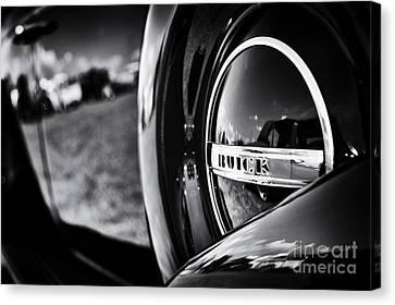 37 Buick 8 Monochrome Canvas Print by Tim Gainey