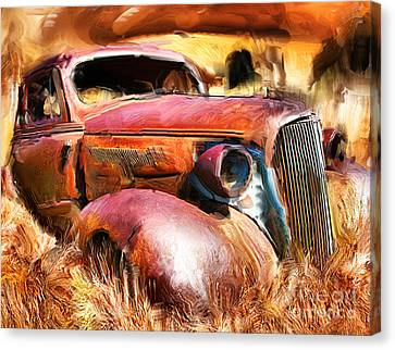 37 Chevy Canvas Print by Tom Griffithe