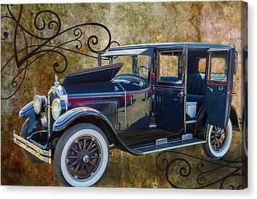 1924 Buick Duchess Antique Vintage Photograph Fine Art Prints 104 Canvas Print by M K  Miller