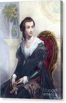 Abigail Adams (1744-1818) Canvas Print by Granger