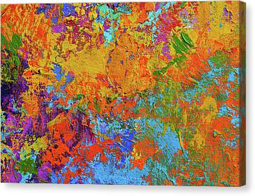 Abstract Painting Modern Art Contemporary Design Canvas Print by Patricia Awapara