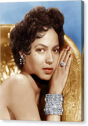 Dorothy Dandridge, Ca. 1950s Canvas Print by Everett