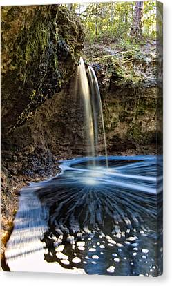 Falling Creek Falls Canvas Print by Rich Leighton