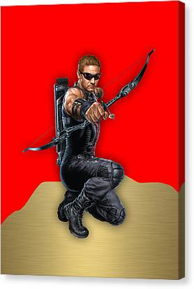 Hawkeye Collection Canvas Print by Marvin Blaine