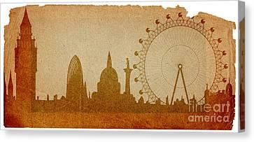 London Canvas Print by Michal Boubin
