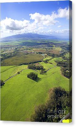 Maui Aerial Canvas Print by Ron Dahlquist - Printscapes