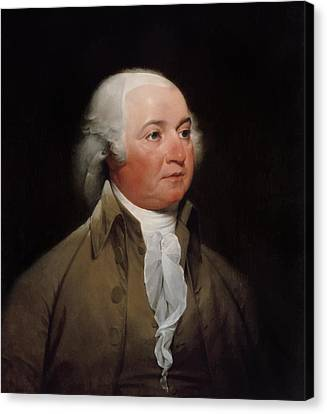 President John Adams Canvas Print by War Is Hell Store