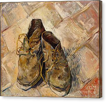 Shoes Canvas Print by Celestial Images