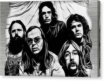 Steely Dan Collection Canvas Print by Marvin Blaine