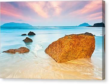 Sunrise Canvas Print by MotHaiBaPhoto Prints