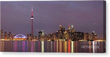 The City Of Toronto Canvas Print by Oleksiy Maksymenko